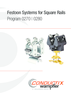 Festoon Systems for Square Rails Program 0270 | 0280