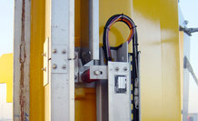 Energy supply for the hoisting gear of 4 automated stacker cranes (ASC)