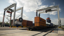 Motorized cables reels for three new E-RTGs (electrified rubber-tired gantries) at Appalachian Regional Port operated by Georgia Ports Authority.