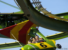 Powered Inverted Coaster [Turbo Glider]