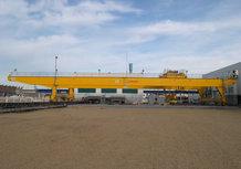 Power supply for a Overhead Crane crab [Shipbuilding/sheet handling]