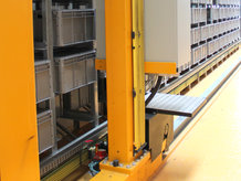 Automated Storage/ Retrieval System in a document warehouse