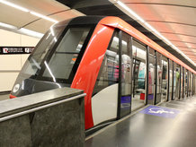 """Transfer between station """"Paral lel"""" and the """"Montjuïc"""" hill"""