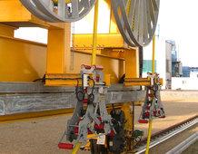 Main power supply for a Overhead Crane crab [Shipbuilding/sheet handling]